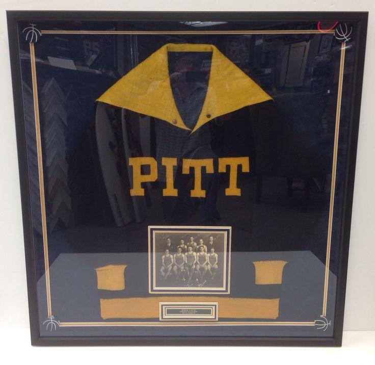 Pitt basketball 1928 display!
