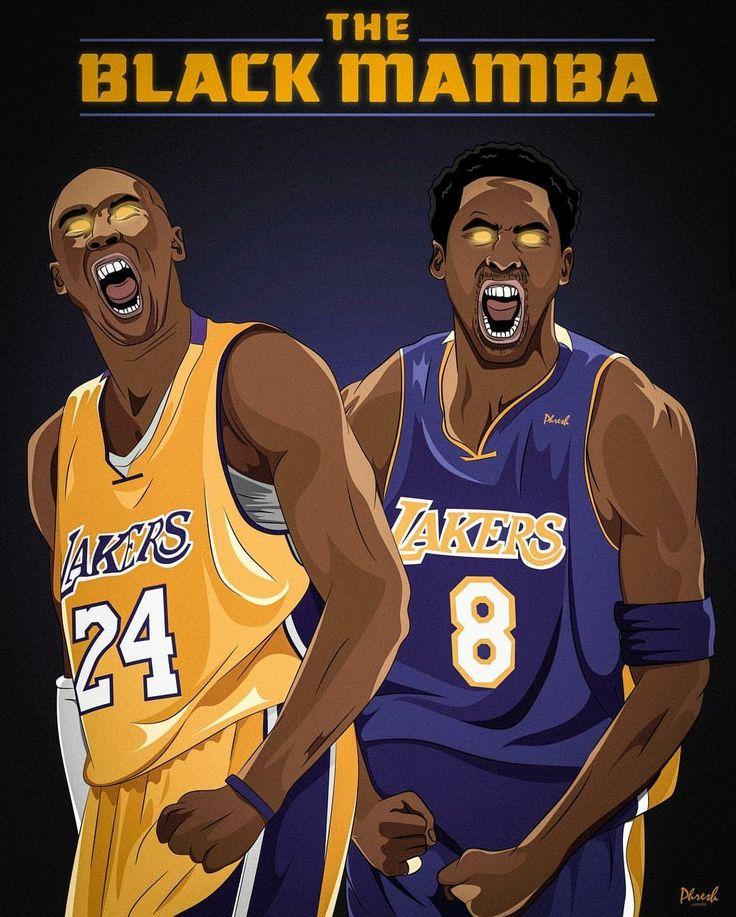 Kobe Bryant no. 8 and 24