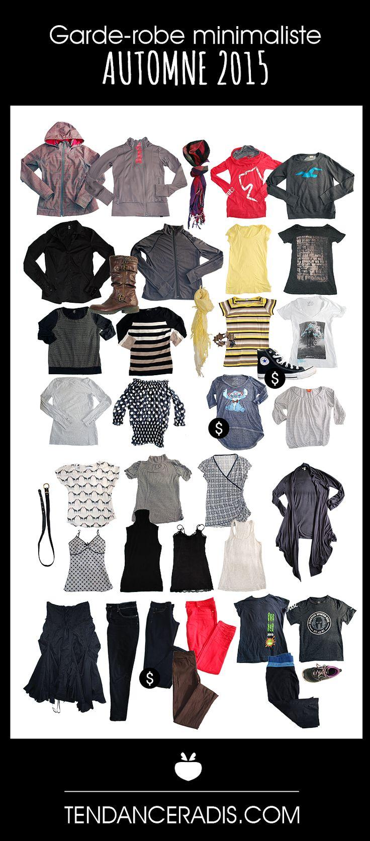 On a test le projet 333 la garde robe minimaliste for Minimalisme rangement