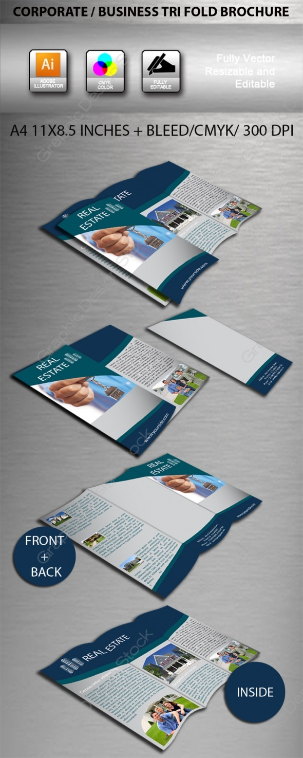 11 best paperless business cards images on pinterest business real estate company brochure design reheart Choice Image