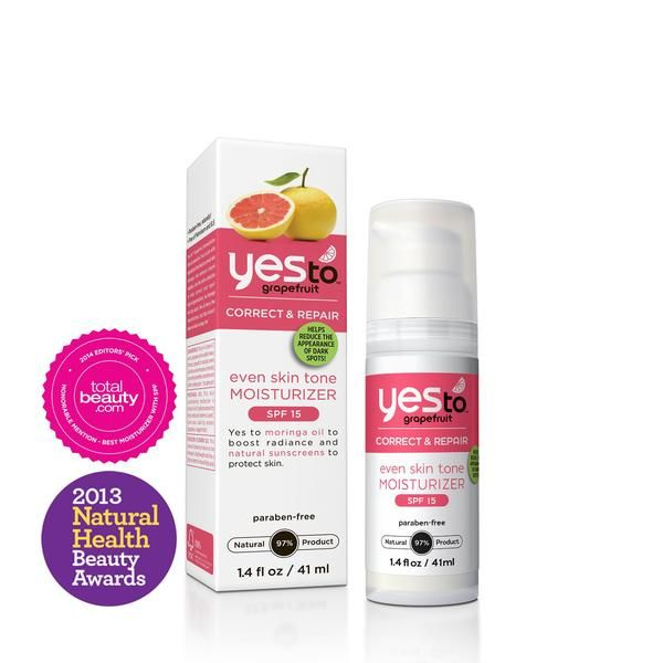 Yes to Grapefruit Even Skin Tone Moisturizer with SPF 15