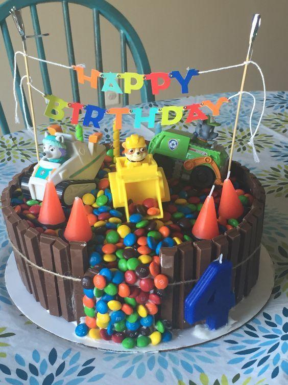 bolo festa patrulha pata