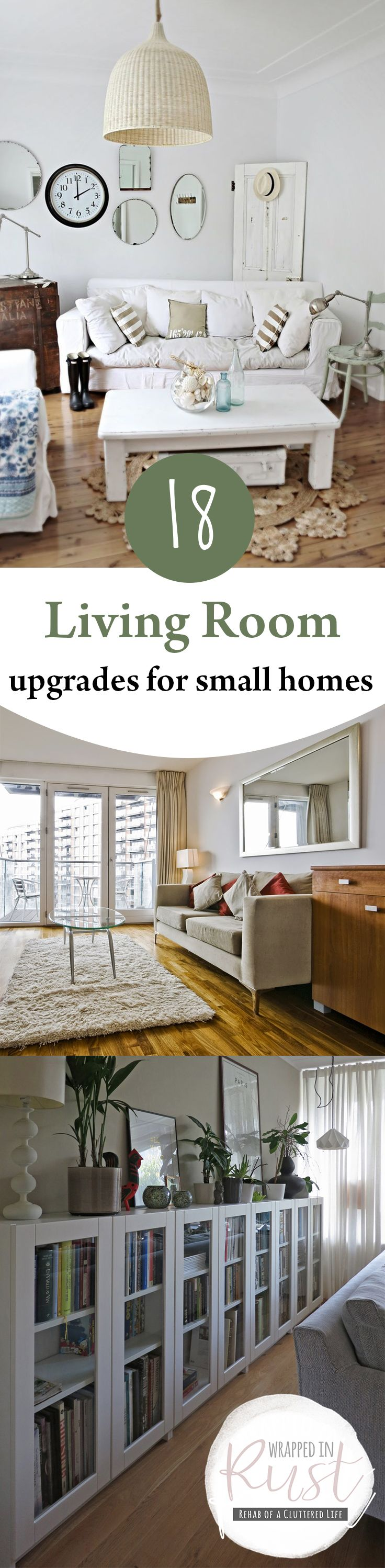 223 best home decor ideas images on pinterest furniture makeover 18 living room upgrades for small homes page 20 of 20