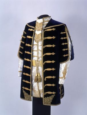 Man's dress | Hungary | late 19th century | cut-pile velvet | Museum of Applied Arts, Budapest | Accession #: 92.44.1-4