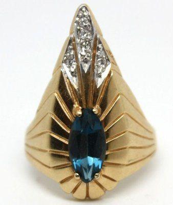 Erte Peacock Ring Value