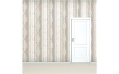 Houtprint behang | betaalbaar interieur | Bespaarmama