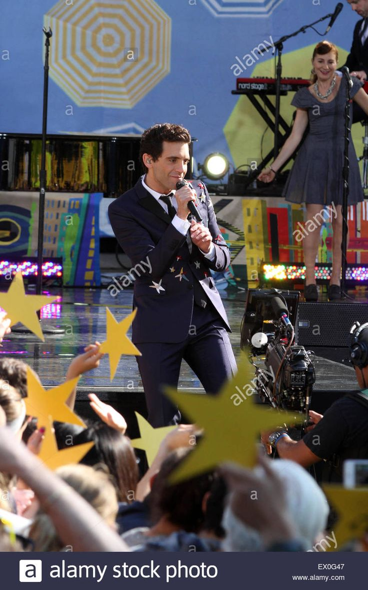 New York City 3rd July, 2015. Mika performs for Good Morning America summer concert series in New York's Central Park - Credit:  Bruce Cotler/Globe Photos/ZUMA Wire/Alamy Live News Stock Photo
