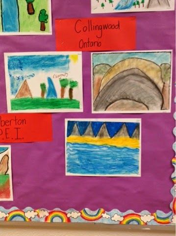 Learning through Inquiry: A Look into Our Grade 3 Classrooms: Canada, how beautiful you are!