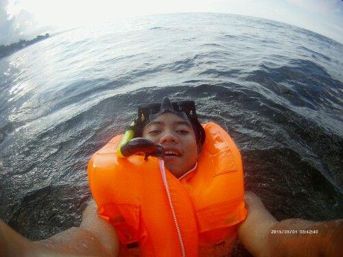 Have fun, Amed Beach (Bali - Indonesia).