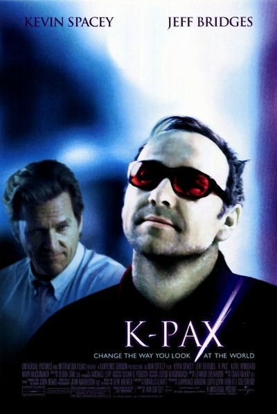 K-Pax   After claiming he is an extraterrestrial from the planet 'K-PAX', prot is committed to the Psychiatric Institute of Manhattan. There, psychiatrist Dr. Mark Powell attempts to cure him of his apparent delusions. However, prot is unwavering in his ability to provide cogent answers to questions about himself, K-PAX and its civilizations. Dr. Powell introduces him to a group of astrophysicists, to whom prot displays a level of knowledge that puzzles them
