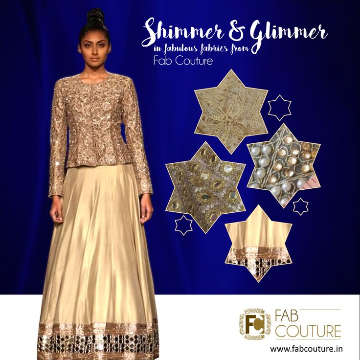 Have your own Simmer and Glimmer #Stylish #designer #collection at#FabCouture! #DesignerFabric at #AffordablePrices.  Buy your stock of fabric from:https://fabcouture.in/embroidered-indian-fabrics.html #DesignerDresses #Fabric #Fashion #DesignerWear #ModernWomen #Embroidered #WeddingFashion #WesternLook #affordablefashion #GreatDesignsStartwithGreatFabrics #LightnBrightColors #StandApartfromtheCrowd #EmbroideredFabrics