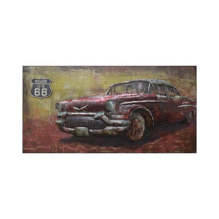 3D schilderij American Car | Ruime keus & Snelle levertijd! | HACO