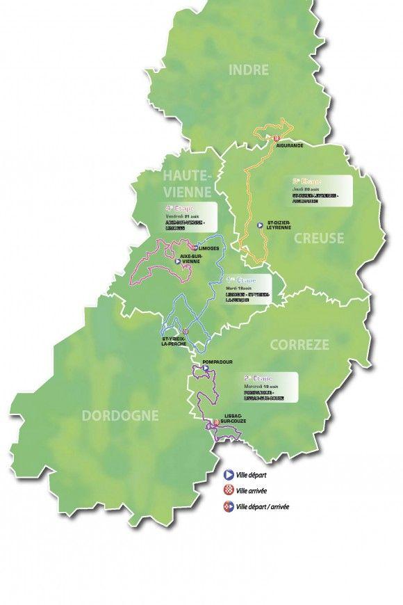 Map Of Poitiers%0A     me Tour du Limousin