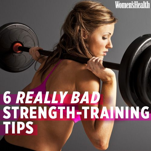 The 6 Worst Strength-Training Tips Ever