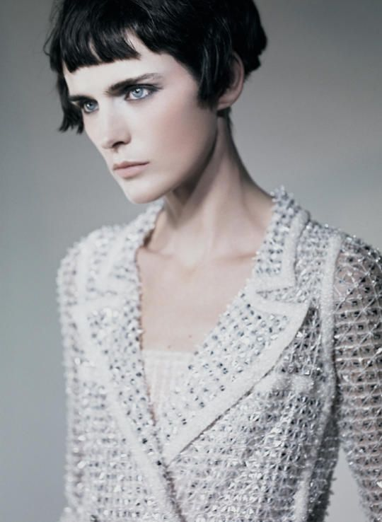 """It's All About Couture"" : Stella Tennant : Vogue Italia March 2011 : Paolo Roversi"