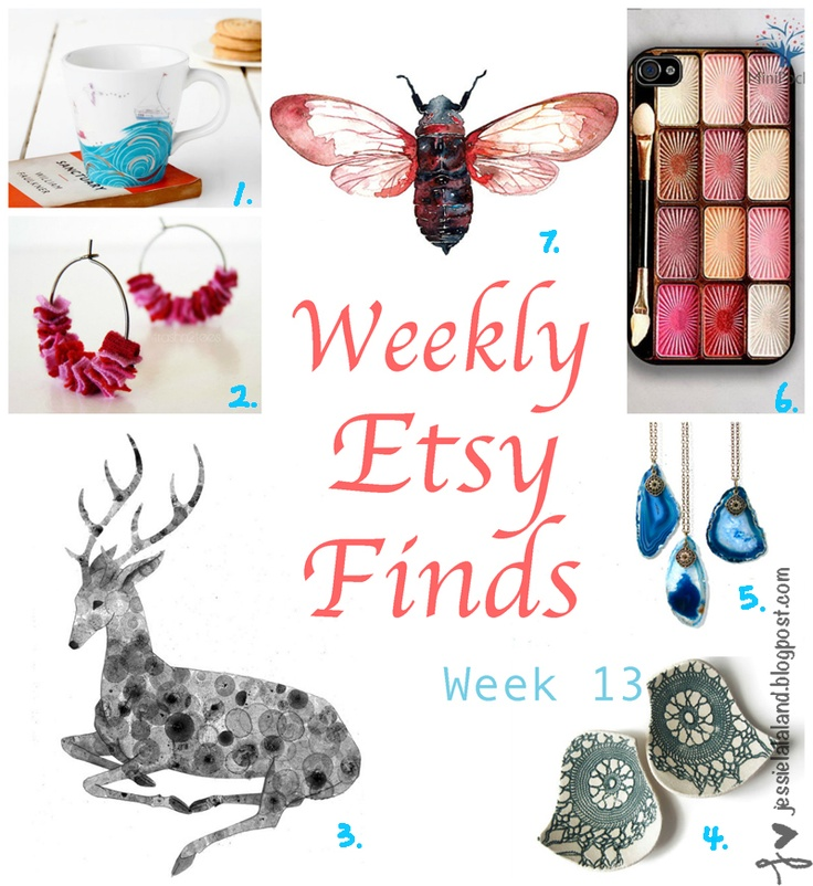 Etsy Finds Of The Week #7  http://jessielalaland.blogspot.se/2013/03/etsy-finds-of-week-7.html