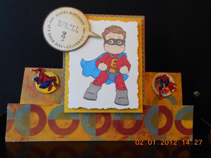 Super Hero Card