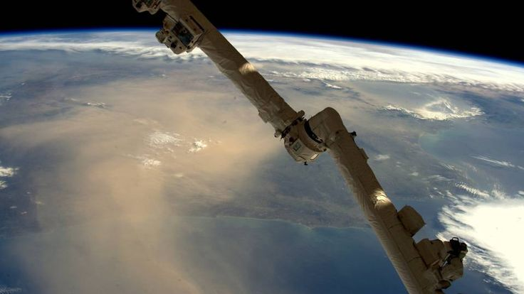 Nuvem de poeira cobre a Península Ibérica: mais uma imagem do espaço