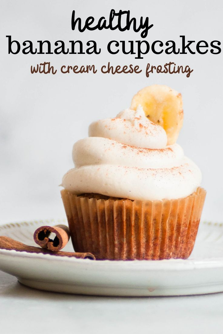 In the mood for a sweet snack? Try these Healthy Banana Cupcakes with Cream Cheese Frosting! They're perfectly rich and…