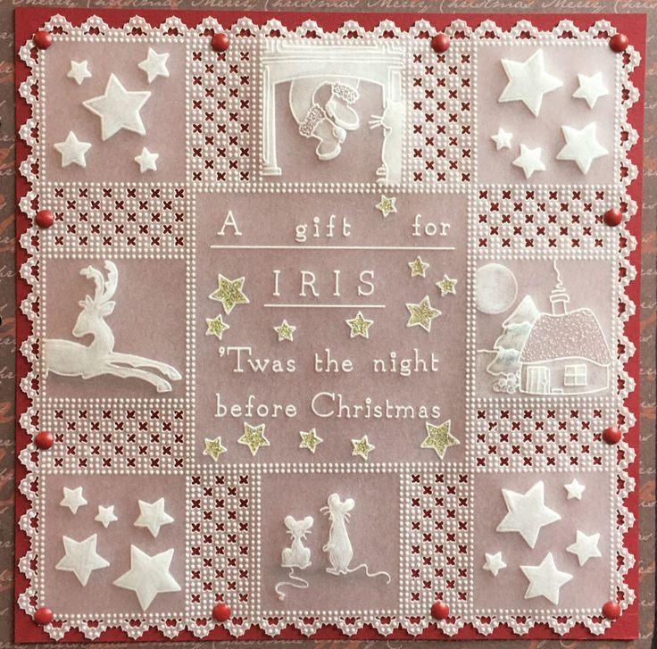 Barbara Gray launches our #12DaysOfChristmasCrafting on Sunday 3rd July with brand new Claritystamp Groovi boards on Hochanda #stamping #cardmaking  www.hochanda.com