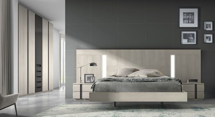17 best images about dormitorios on pinterest colors for Dormitorio matrimonio nordico