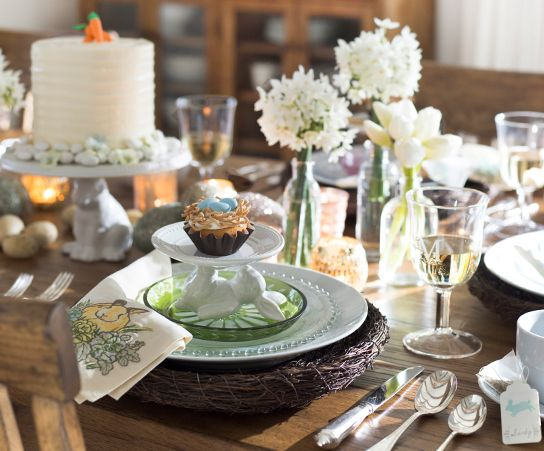 Pottery Barn Dining Table Decor: 17 Best Images About Pottery Barn Easter On Pinterest