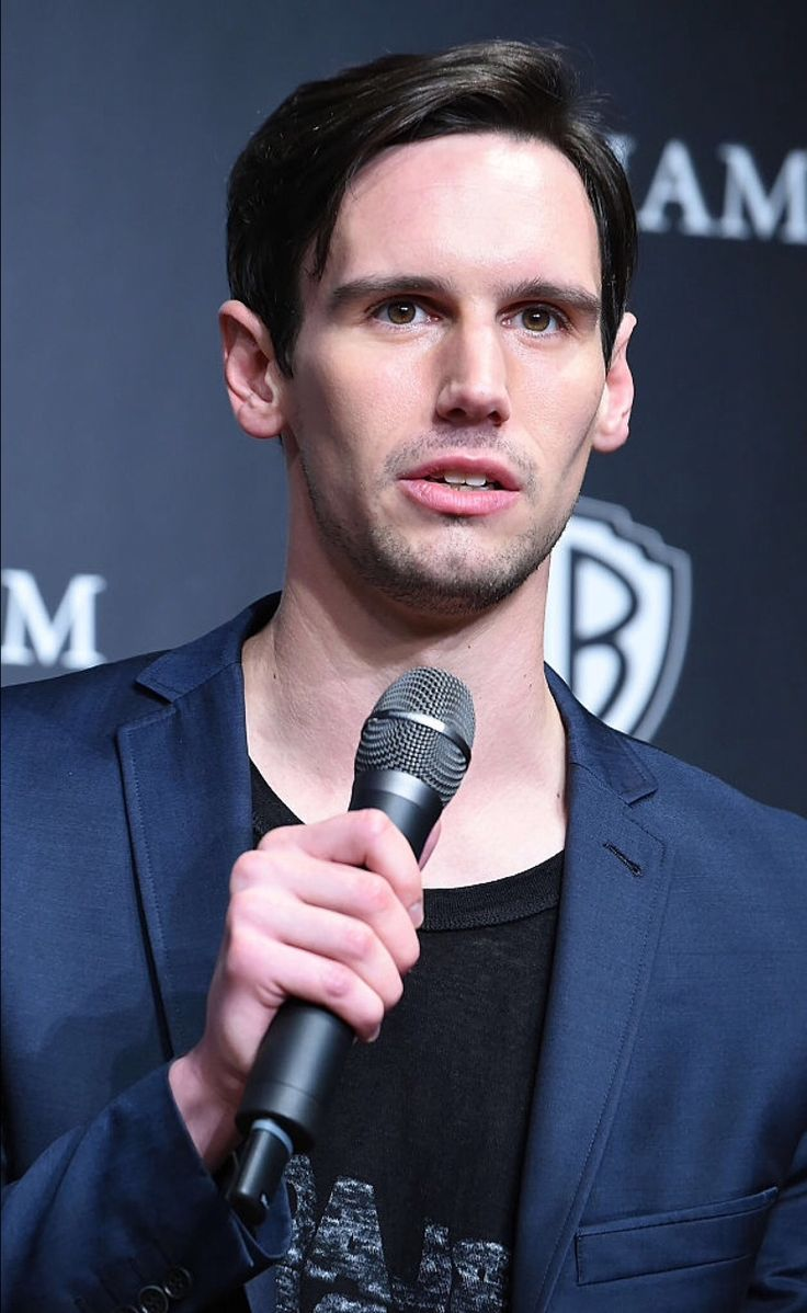 Cory Michael Smith attends the press conference for 'Gotham' at The Ritz-Carlton Tokyo on June 11, 2015 in Tokyo, Japan. (Photo by Jun Sato/WireImage)