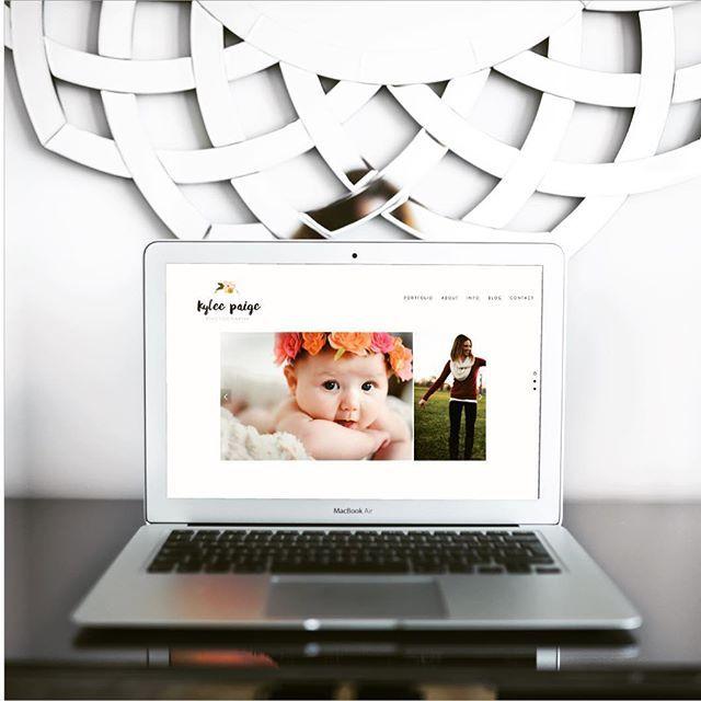 Latest website refresh design for @kyleepaigephotography - If you're looking for a photographer in Michigan, she's your girl! {kyleepaigephotography.com}  #risingtidesociety #photographer #websitelaunch  #photographerwebsite #womenentrepreneurs