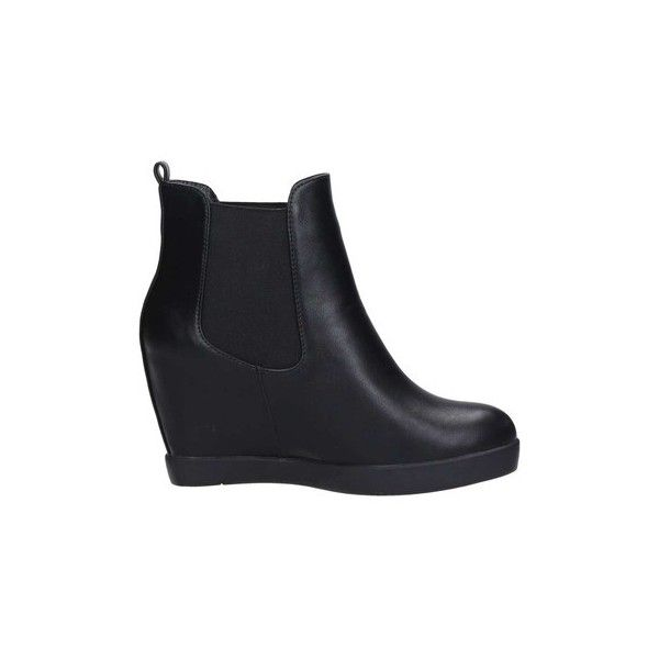 Brigitte Bl25 Ankle Boots Low Ankle Boots (£72) ❤ liked on Polyvore featuring shoes, boots, ankle booties, black, low boots, women, black shootie, black boots, low-heel boots and low booties