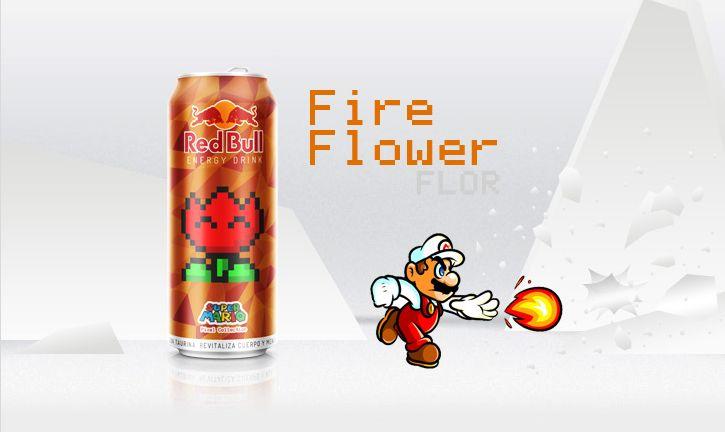 Red bull donne des ailes et dans ce cas des pouvoirs à Mario, très sympathique série deJhonatan Ayala associant la célébre boisson énergisante et le monde de Mario, look !