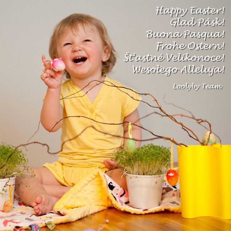 Joyful hugs this Easter from Loolyby team. May all this time be 'egg-cellent' for you and your families!