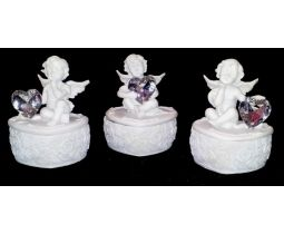 Cherub Trinket Box