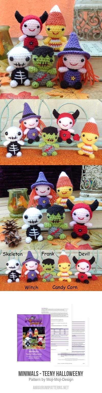 Minimals - Teeny Halloweeny amigurumi pattern