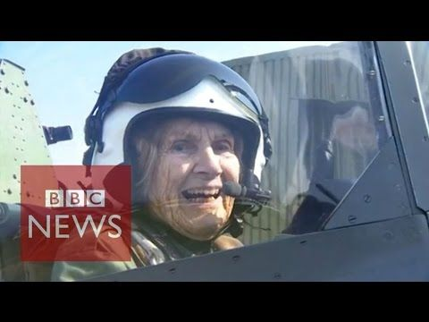 92 Year old female pilot back in the cockpit after 70 years (video) - http://unclesamsmisguidedchildren.com/92-year-old-female-pilot-back-in-the-cockpit-after-70-years-video/