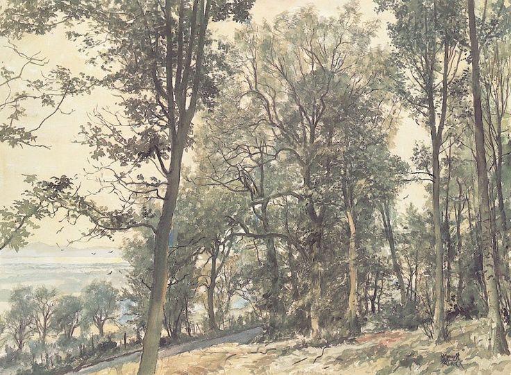 James McIntosh Patrick Trees Signed Limited Edition Print | Scottish Contemporary Art