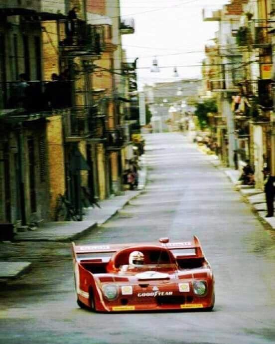 1973 Targa Florio, Clay Regazzoni,  Alfa Romeo 33TT12