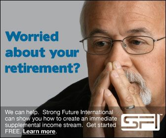 Worried about money? Lose those worries by adding a second paycheck with Strong Future International. Get started FREE. Start seeing money within a few weeks. Learn more at: www.sfi4.com/12738441/FREE