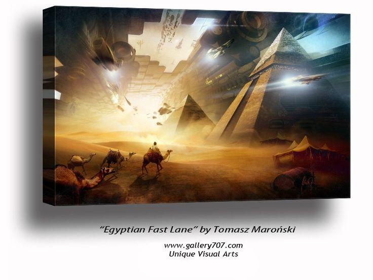 'Egyptian Fast Lane' by Tomasz Maroński