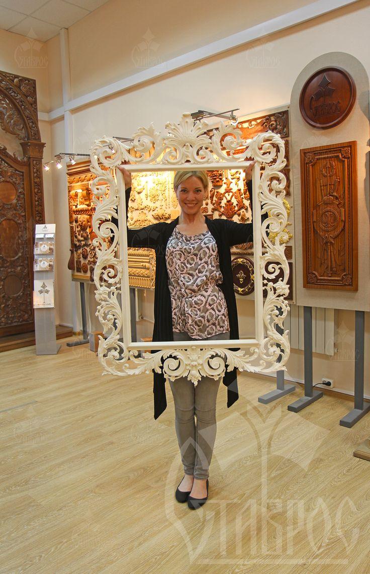 РАМА ИЗ ПОЛИУРЕТАНА. Наши рамы из полиуретана не только качественные, красивые, но и невероятно легкие! Их так и хочется взять в руки и пофотографироваться, пока еще не вставлено зеркало! #рама #зеркало #декор #полиуретан #зеркало FRAME MADE OF POLYURETHANE. Our frames are made from polyurethane not only beautiful, but also incredibly easy! They just wanted to pick up and take pictures, not yet inserted the mirror! #frame #mirror #decor #POLYURETHANE