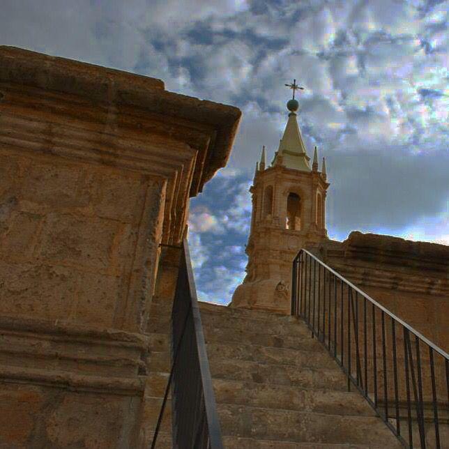 Campanario Catedral de Arequipa, Perú