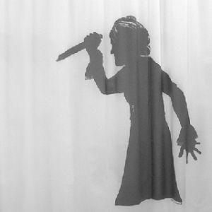 """cortina de baño """"psicosis"""" diseñada por agustí garcia €39.90"""