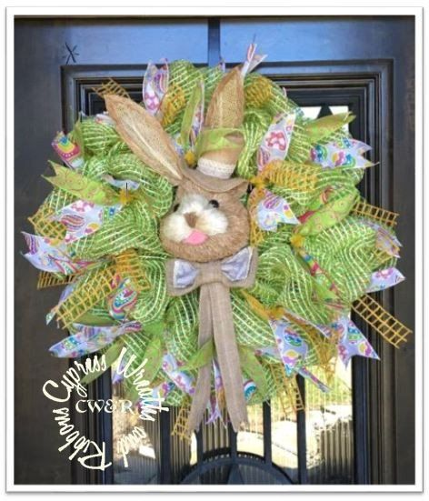 WR2130 - Easter Bunny Wreath