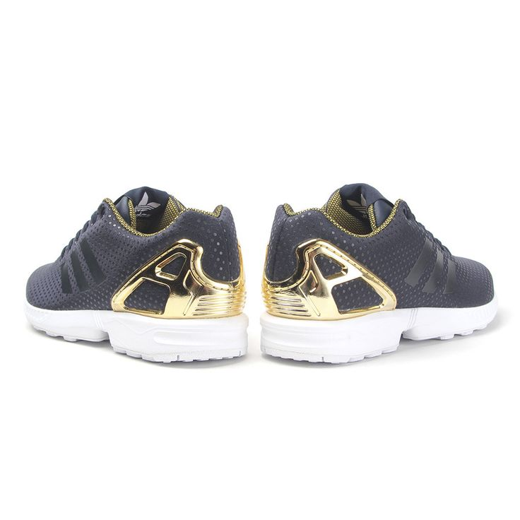 adidas Originals Designed by Rita Ora ZX FLUX WMNS navy \u0026 gold ? http:/