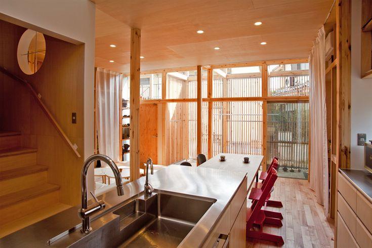 mizuishi architect atelier: house in nukuikitamachi #mizuishiarchitectatelier #architettura #legno #japan #interni