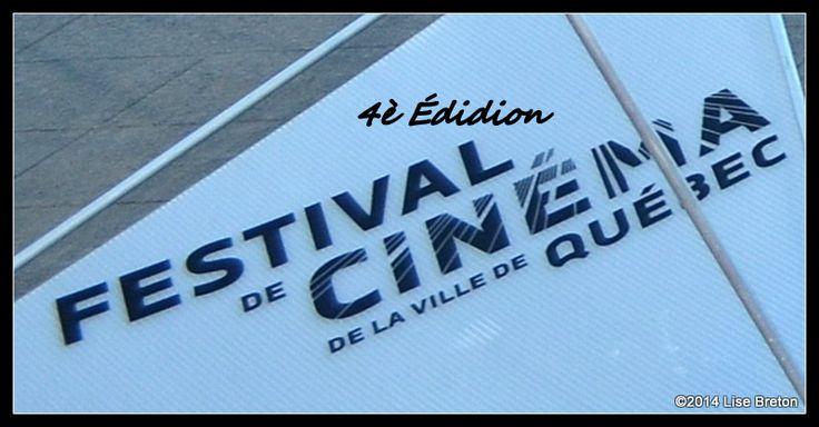 4è Édition du Festival de Cinéma de la Ville de Québec (FCVQ) vu par Lise Breton Les Cinéphiles se donne rendez-vous du 18 au 28 septembre 2014 à Ville de Québec, Québec Canada // Crédit photo Lise Breton