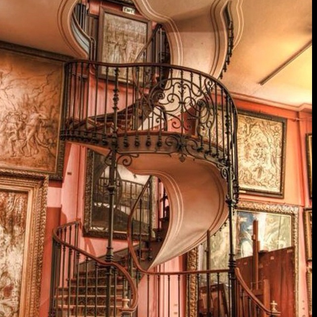 The Most Magnificent Staircase At Musee Gustave Moreau In Paris Isnt It Just Splendid