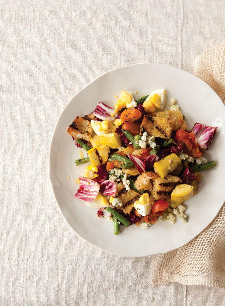 Grilled Vegetable Panzanella   Vegetarian Times