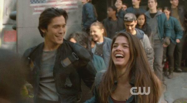 Blakes - The 100 CW - Bellamy Blake Octavia - Bob Morley Marie Avgeropoulos #The100