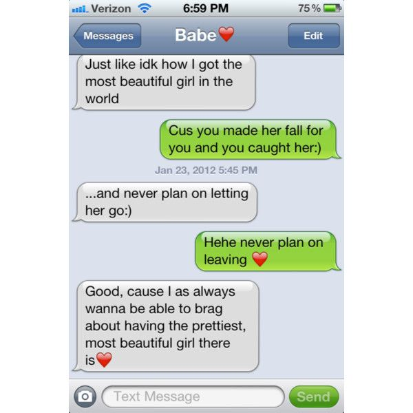 Cute dating text messages