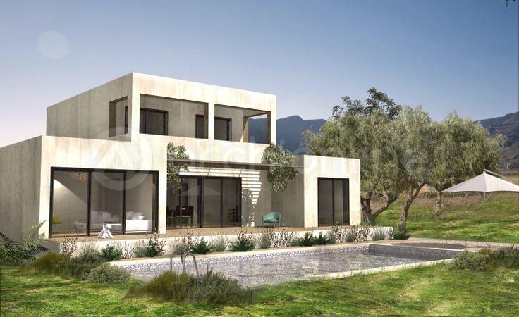 Villa chaves plan de maison moderne par archionline for Idee plan de maison moderne